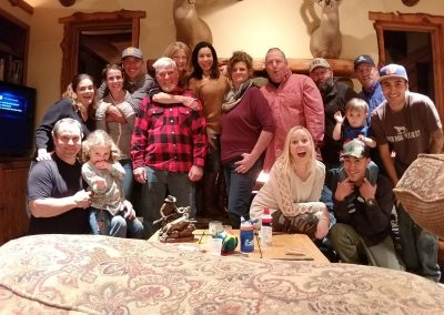family at wolf mountain ranch