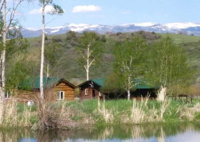 steamboat hunting cabins